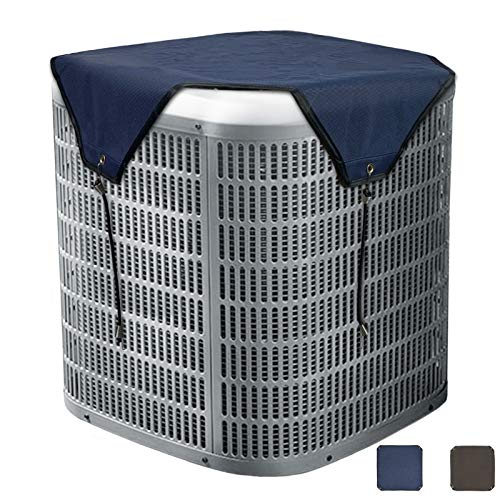 Foozet Air Conditioner Cover for Outside Units, AC Cover for Central Units, Heavy Duty Winter Top, 36 x 36 inches