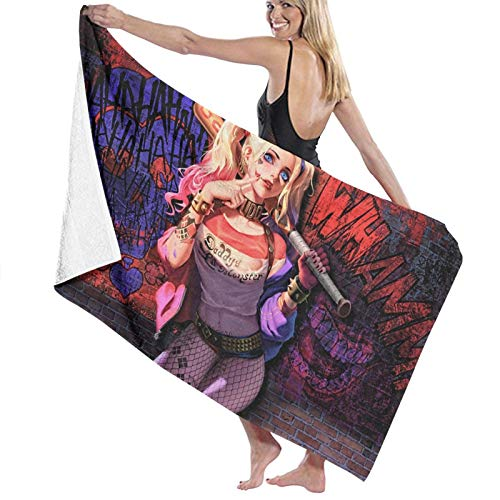 517p6bAI1KL._SL500_ Harley Quinn Bath Towels