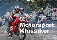 Motorsport Klassiker (Wandkalender 2022 DIN A3 quer): Motorsport Klassiker aus den Jahren von 1932 bis 1986 (Monatskalender, 14 Seiten )