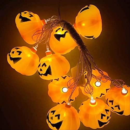 Festival Lantern String Lantern Calabaza Halloween Ghost Festival Bar Ktv Restaurant Creative Decoration Lantern String 1.5m