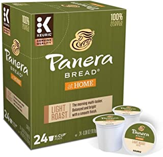 Keurig Coffee Pods K-Cups 16/18 / 22/24 Count Capsules ALL BRANDS/FLAVORS (24 Pods Panera Bread - Light Roast)