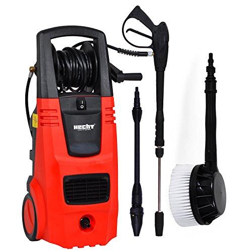 HECHT Elektro-Hochdruckreiniger 326 Hochdruck-Spritzgerät (2600 Watt, mit Zubehör)