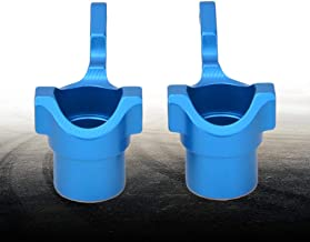 RC Car Steering Block, RC Car Knuckle Arm, Aluminum Alloy Uprights Steering Cup for RC Truck RC Car(blue)