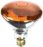 Westinghouse Lighting Amber 0441100, 100 Watt, 120 Volt Incandescent BR38 Light Bulb-2000 Hours, 1 Pack