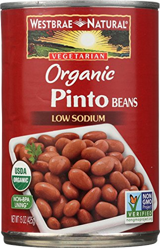 Westbrae Natural Organic Pinto Beans, 15 Ounce Cans (Pack of 12)