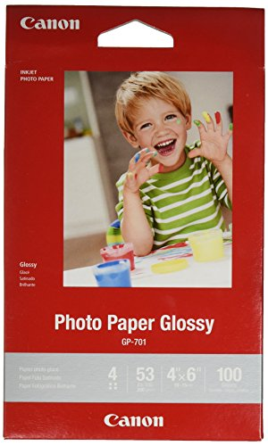 CanonInk Glossy Photo Paper 4