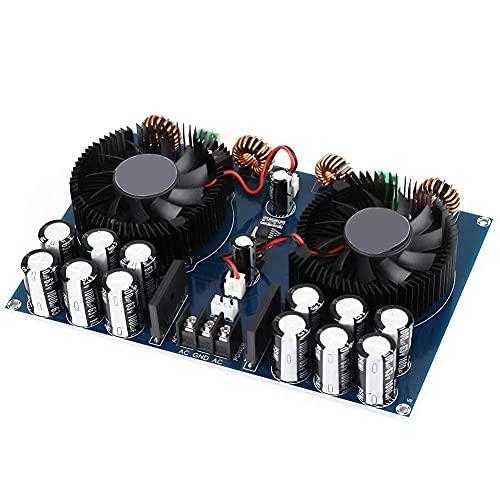 XH-M258 2x420W Due Canali Ad Alta Potenza Amplificatore Scheda TDA8954TH Dual Chip Audio Audio Audio Potenza Amplificatore Scheda con Ventola di Raffreddamento