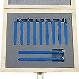 KATSU Torno 11Pc Conjunto de herramientas de torneado de corte y fresado de mandrinado soldado de 6 mm