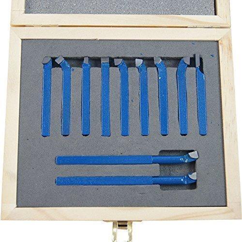 KATSU Torno 11Pc Conjunto de herramientas de torneado de cor
