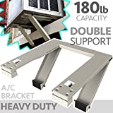 ALPINE HARDWARE Universal Window Air Conditioner Bracket - Heavy-Duty Window AC Support - Support Air...
