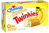 Hostess Twinkies, Banana, 10 Count (Pack of 6)