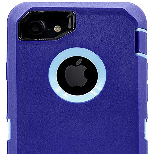 Case for OtterBox Defender Case with Belt Clip for iPhone 8 / iPhone 7 - Purple Aqua