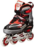 Cosco Sprint Roller Skate (Red) - Medium