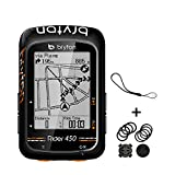 Bryton Rider 450E GPS Ciclismo, Adultos Unisex, Negro, 2.3'