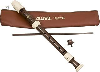 Aulos - 教室录音机 - 浅棕色高音 3 件套 英语 A703B
