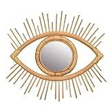 Sanfiyya Marco de la Rota Espejo de Pared Colgante de Pared de la decoración del Arte del Ojo Colgante decoración para la Sala de Estar Dormitorio