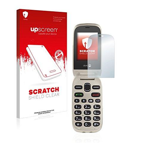 upscreen Schutzfolie kompatibel mit Doro 6030 – Kristallklar, Kratzschutz, Anti-Fingerprint