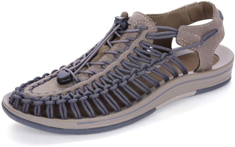 Men's shoes Outdoor Sports shoes, Sandals, Outdoor, Summer, Bag, Sandals, Non-Slip, Breathable, Men's Beach shoes Men's shoes (color   8 US)