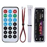 Garsent Decode Board, Wireless Bluetooth 5.0 MP3 WMA Decoder Board Car Audio FM APE FLAC M...