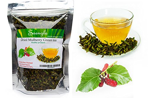 Organic White Mulberry Leaf Tea,Blood Sugar Balance,Can Help Reduce Cholesterol,Boosts Immune System,Helps with Weight Loss 30g