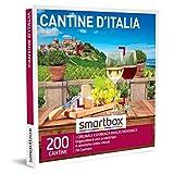 smartbox - Cofanetto Regalo - Cantine d'Italia - Idee Regalo - Interessanti degustazioni di Vini e Prodotti tipici per 2 in selezionate Cantine Italiane