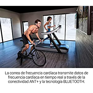 Garmin HRM Dual, Monitor de frecuencia cardíaca con transmisión dual, ANT+
