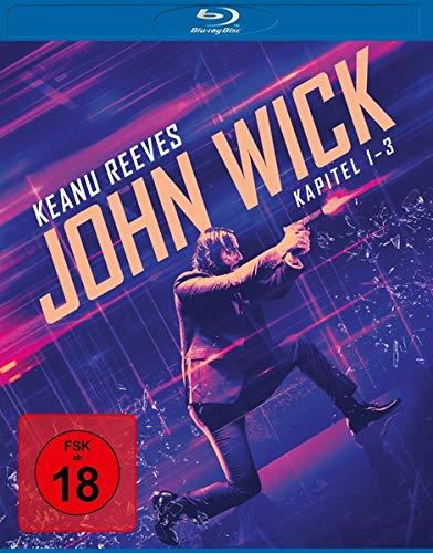 John Wick - Kapitel 1-3 [Blu-ray]