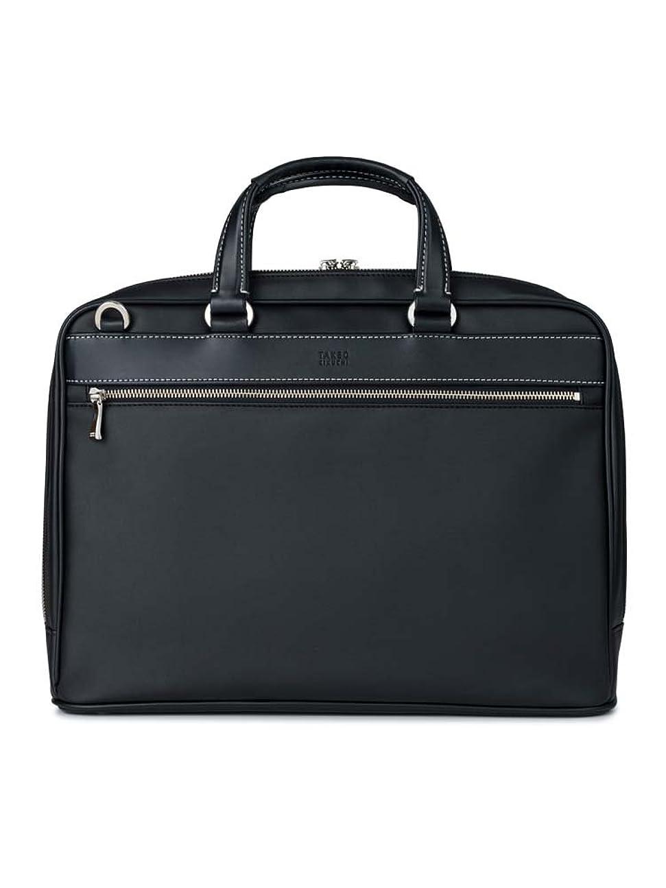 証言するぼかす記者[タケオキクチ] ブリーフケース フュージョン ビジネスバッグ ショルダーバッグ 2WAY メンズ 748503