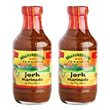 Jamaican Jerk Marinade Seasoning Sauce – Achieve the Absolute Traditional Island Flavor Taste Formulated |Perfect on Marinating Meat, Chicken, Fish, and Seafoods | 500ml 2 PACK