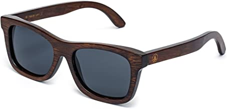 Tree Tribe Bamboo Sunglasses with Polarized Lens and Floating Frames
