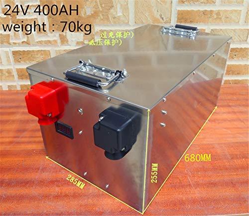 SHUNBIN Batería Lifepo4 100ah 200ah 300ah 400ah 24V Batería de fosfato de...