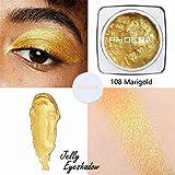 Cwemimifa 32 Shade Eyeshadow Palette Affirmation,Gelee Gel Highlighter Make Up Concealer Schimmer...