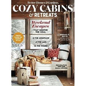 Better Homes & Gardens Cozy Cabin Retreats