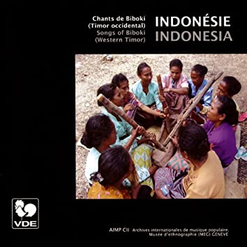 Indonésie: Chants de Biboki (Timor occidental) – Indonesia: Songs of Biboki (Western Timor)