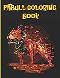 Pitbull Coloring Book: 50 Unique Mandala Style Adorable Pitbull Coloring Pages, Pitbull Mom Gifts 8.5*11 -100
