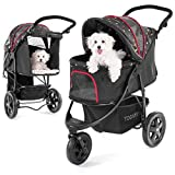 Togfit Pet Roadster, Passeggino per animali domestici fino a 32...