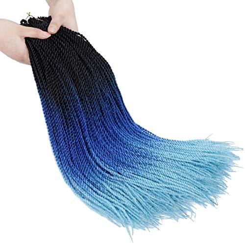 24inch 6pack Senegalese Twist Crochet Hair 30...