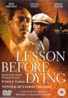 A Lesson Before Dying [DVD]