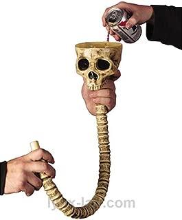 Fun World Skull Beer Funnel
