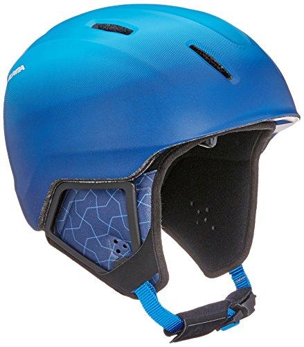 ALPINA Unisex - Kinder, CARAT XT Skihelm, blue-gradient matt, 51-55 cm
