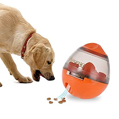 DADYPET Treat Ball, Interactive Dog Toys Treat Dispenser, IQ Ball Dog Puzzle Toys for Puppy, Small to Medium Cats, Dogs, and Pets