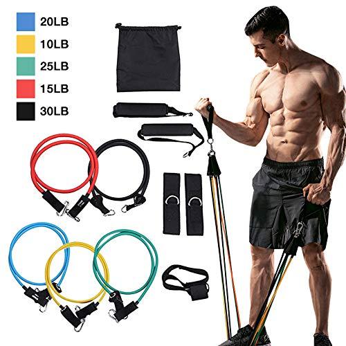 WAZA 11PCS Sistema de Entrenamiento de Ejercicios de Fitness