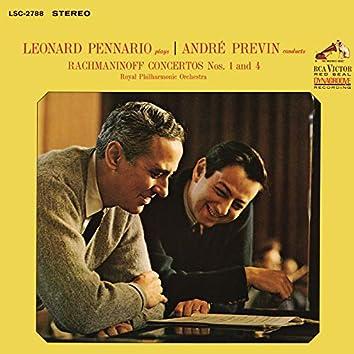 Rachmaninoff: Piano Concertos 1 & 4