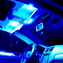 SCITOO 14Pcs Blue Interior LED Light Package Kit Replacement Bulbs Fits for Ford 2012 2013 2014 2015 Toyota CAMRY