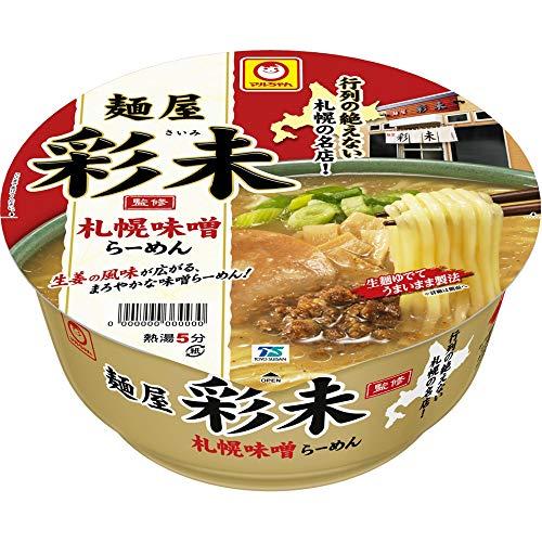 マルちゃん 麺屋 彩未 札幌味噌らーめん 125g ×12個