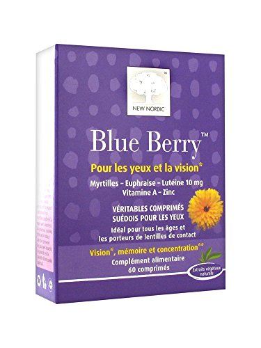 New Nordic Blue Berry 60 tabs
