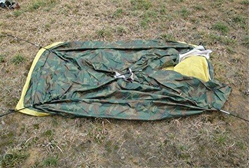 HONEYY Une Personne Tente de Camouflage de Plein air tentes Personne Seule Tente Camping Sauvage Unique 200 * 100 * 100cm Fournitures