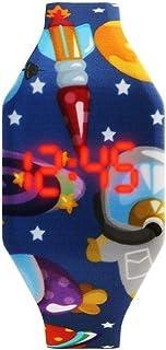 Orologio Bambino XYBB Orologi per bambini dei cartoni animati Orologio digitale a LED carino Orologio elettronico per stud...