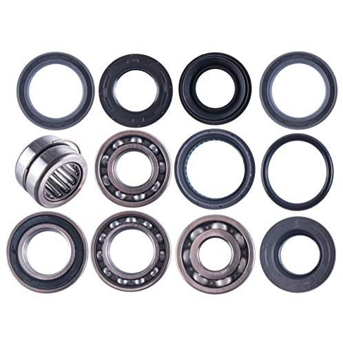 East Lake Axle Rear differential bearing & seal kit compatible with Honda TRX 400/450 / 500 2001 2002-2004