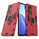 TenDll Case for OppoFindX3Neo,TPU&PC Hybrid Armor